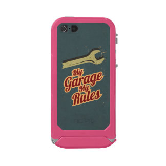 My Garage My Rules Waterproof Case For iPhone SE/5/5s