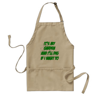 My Garden Adult Apron