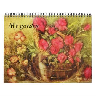 My garden calendar