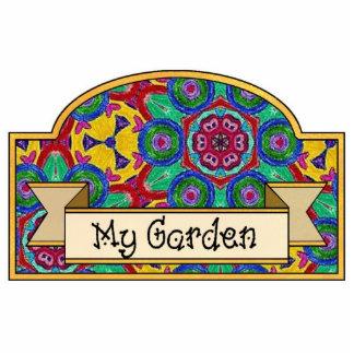 My Garden - Decorative Sign Cutout