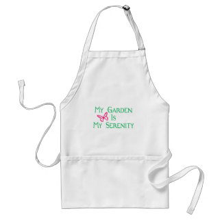 My Garden Is My Serenity Adult Apron