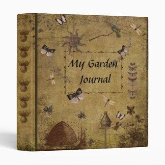 My Garden Journal- Style 3- One Inch Binder