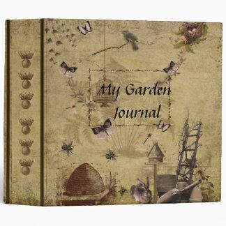 My Garden Journal- Style 6- Two Inch Binder
