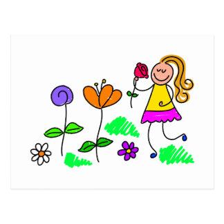 My Garden Postcard