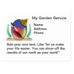 My Garden Services Large Business Cards (Pack Of 100)