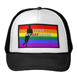 MY GAY SISTER TRUCKER HAT