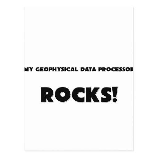MY Geophysical Data Processor ROCKS! Postcards