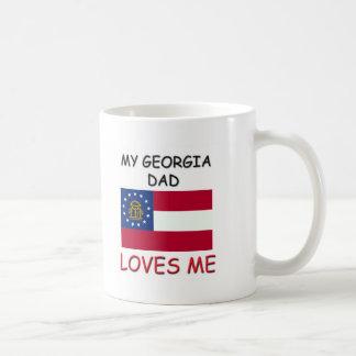 My GEORGIA DAD Loves Me Classic White Coffee Mug