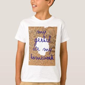 My Gerbil Ate My Homework T-Shirt