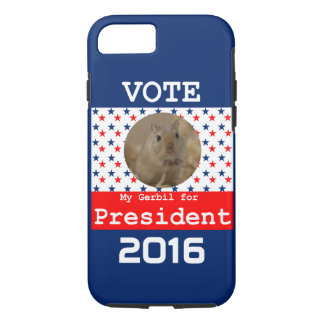 My Gerbil for President iPhone 7 Case