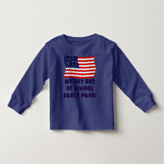 My Get Out Of School Early Pass Toddler T-shirt