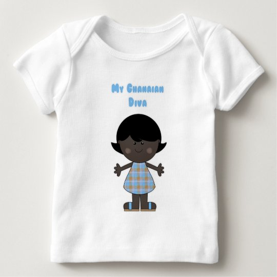 My Ghanaian Diva Baby T-Shirt