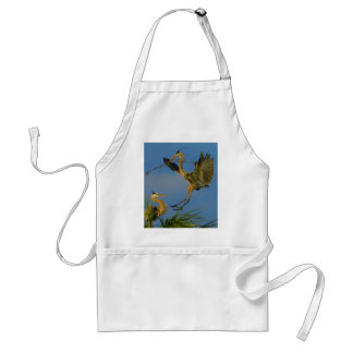 My Gift To You - Great Blue Herons Adult Apron
