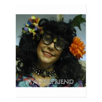 MY GIRL FRIEND POST CARD