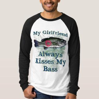 My-Girlfriend-Always-Kisses-My-Bass T-Shirt