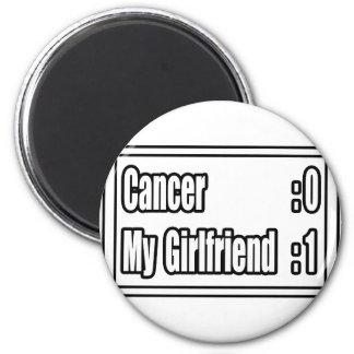 My Girlfriend Beat Cancer (Scoreboard) Magnet