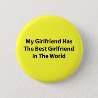 My Girlfriend Button (Round)