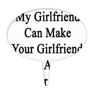 My Girlfriend Can Make Your Girlfriend A Better Bi Cake Topper