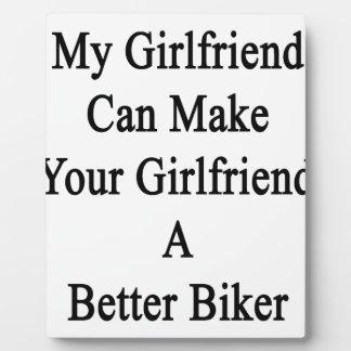 My Girlfriend Can Make Your Girlfriend A Better Bi Plaque