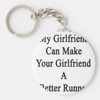 My Girlfriend Can Make Your Girlfriend A Better Ru Keychain