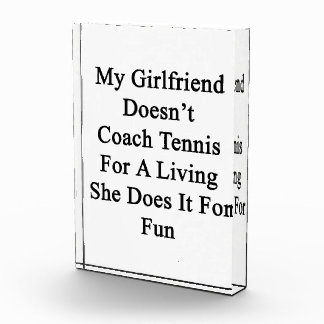 My Girlfriend Doesn t Coach Tennis For A Living Sh Awards