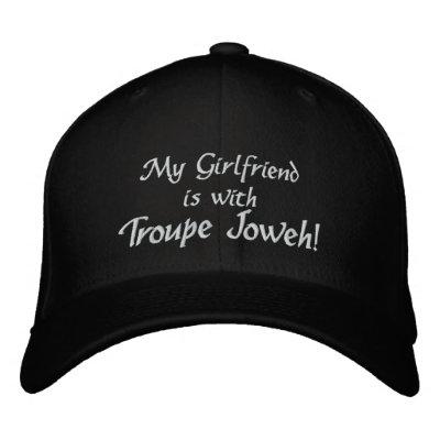 My Girlfriend Embroidered Hat