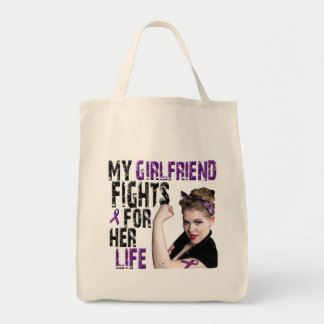 My GIRLFRIEND fights for her life... Tote Bag