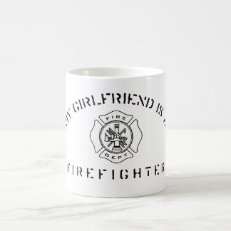 My Girlfriend Is A Firefighter Mug