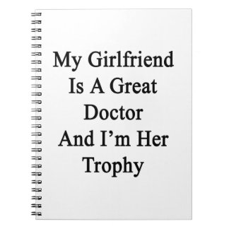My Girlfriend Is A Great Doctor And I'm Her Trophy Notebook