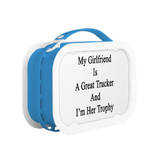 My Girlfriend Is A Great Trucker And I'm Her Troph Replacement Plate
