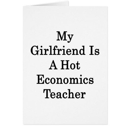My Girlfriend Is A Hot Economics Teacher Cards