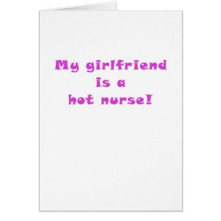 My Girlfriend is a Hot Nurse Cards