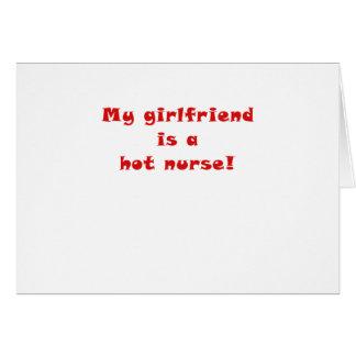 My Girlfriend is a Hot Nurse Card