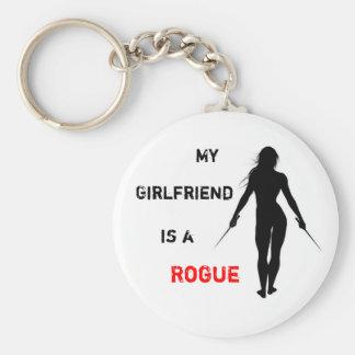 My Girlfriend is a Rogue Keychain