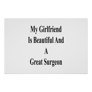 My Girlfriend Is Beautiful And A Great Surgeon Poster