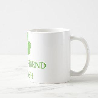 my girlfriend is irish coffee mug