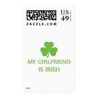 my girlfriend is irish postage