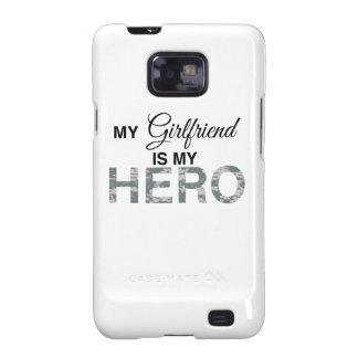 My Girlfriend is my Hero Digital Camouflage Galaxy SII Case