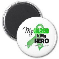 My Girlfriend is My Hero - Kidney Cancer Magnet