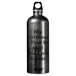My Girlfriend Is That Hot Girl Who Loves Karate SIGG Traveler 1.0L Water Bottle