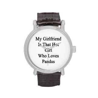 My Girlfriend Is That Hot Girl Who Loves Pandas Watch
