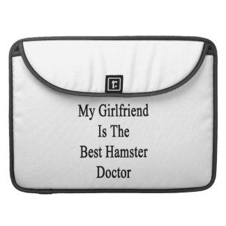 My Girlfriend Is The Best Hamster Doctor Sleeve For MacBook Pro