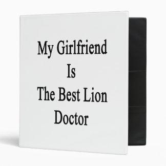 My Girlfriend Is The Best Lion Doctor Binders