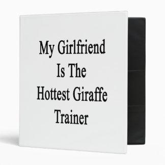 My Girlfriend Is The Hottest Giraffe Trainer Binder