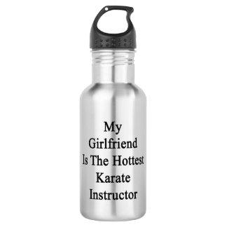 My Girlfriend Is The Hottest Karate Instructor 18oz Water Bottle