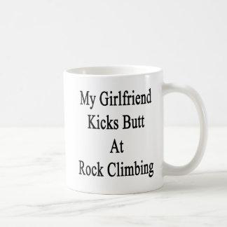 My Girlfriend Kicks Butt At Rock Climbing Coffee Mug