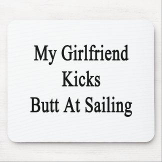 My Girlfriend Kicks Butt At Sailing Mouse Pad
