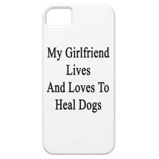 My Girlfriend Lives And Loves To Heal Dogs iPhone 5 Covers