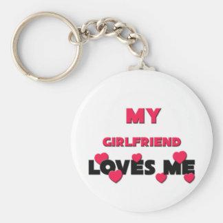 My Girlfriend Loves Me Keychain