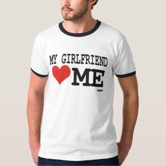 My girlfriend loves me tshirts